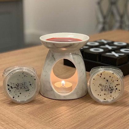 Wax Melt & Large Tealight Burner Bundle