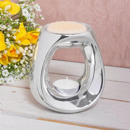 Silver Oval Burner