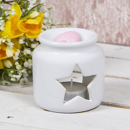 White Star Jar Burner