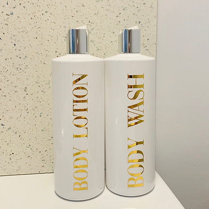 Personalised 500ml Lotion Bottle