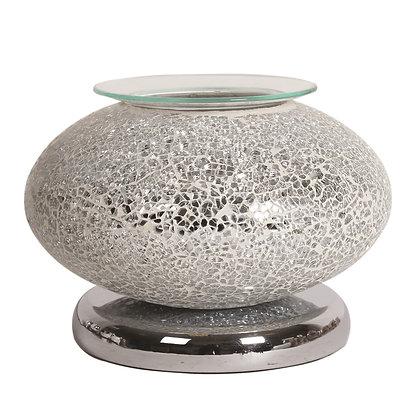 Ellipse Silver Mosaic - Touch Sensitive Aroma Lamp