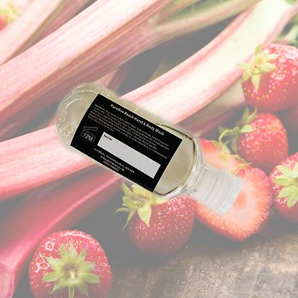 Rhubarb & Strawberry Miniature Hand & Body Wash