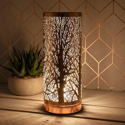 Rose Gold Trees - Slim Touch Sensitive Aroma Lamp