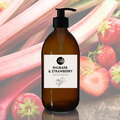 Rhubarb & Strawberry Hand & Body Wash