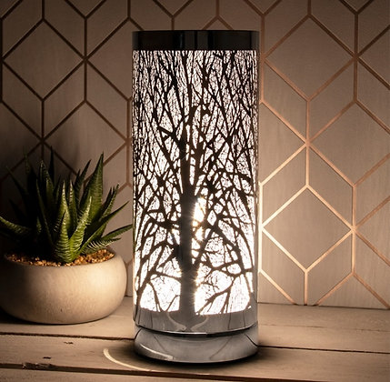 Silver Trees - Slim Touch Sensitive Aroma Lamp