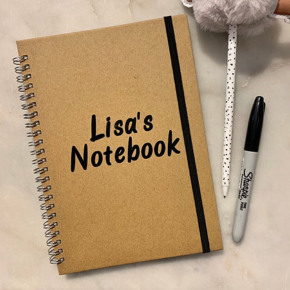 A5 Personalised Notebook