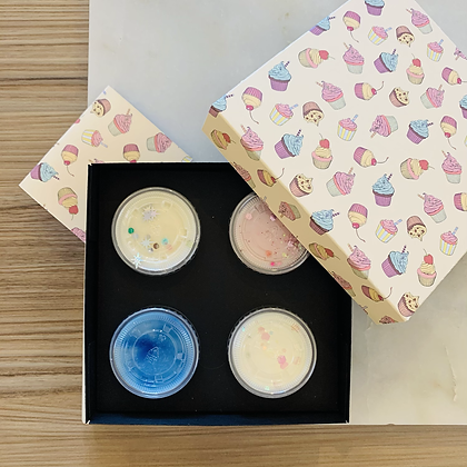 Cupcakes Shot Pot Gift Box