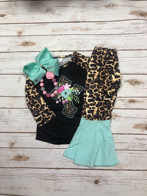 Leopard Cross Set