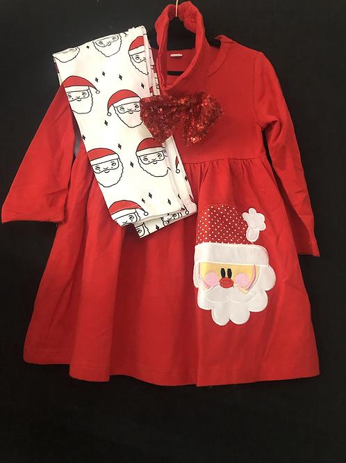 Red Santa Set with headband