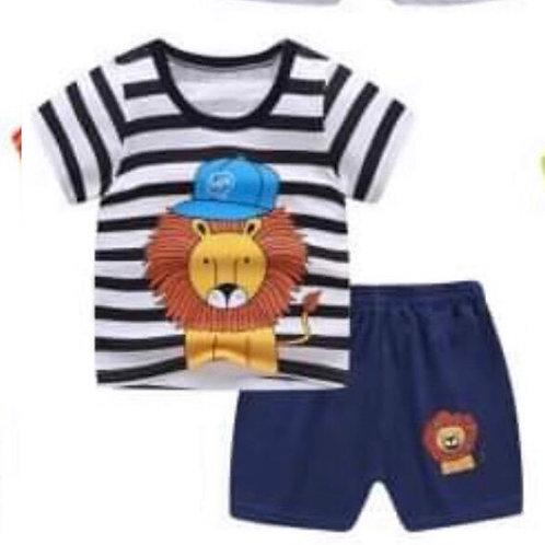 Lionhearted Short Set