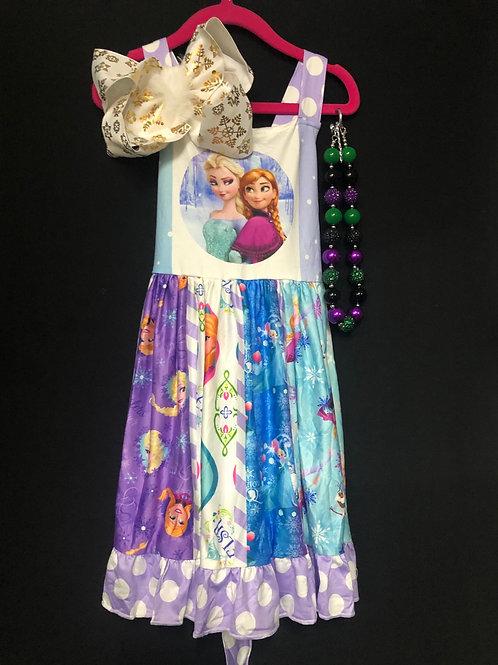 Elsa & Anna Dress
