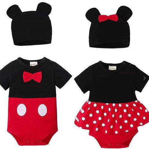 Mickey & Minie Rompers
