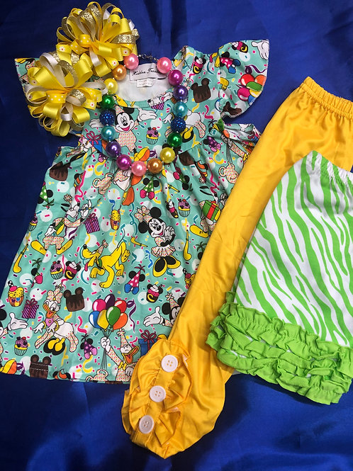 Disney Minnie Mouse's Party Girls Dress