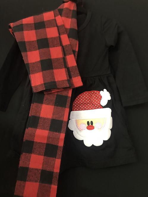 Plaid & Santa
