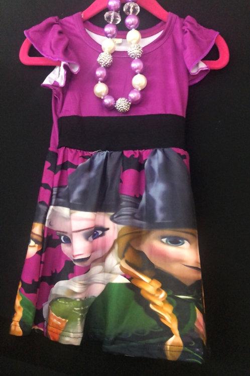Frozen Sister dress