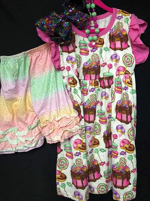 Sweets Shorts set