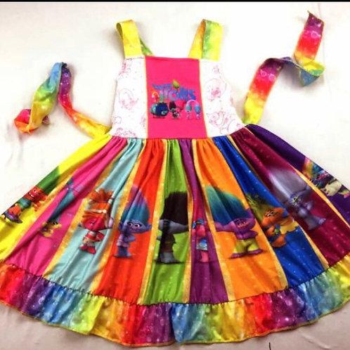 Trolls Twirl Dress