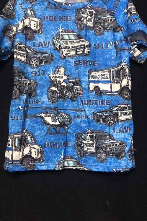 Boys Support Law Enforcement Shirt