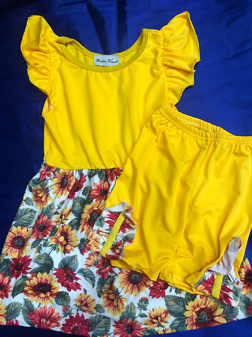Sunflower 2 Piece Girls Set