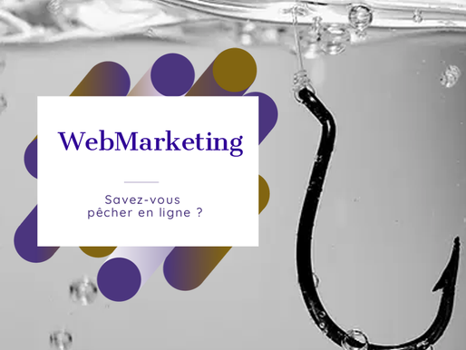 Le Webmarketing ou la pêche en ligne