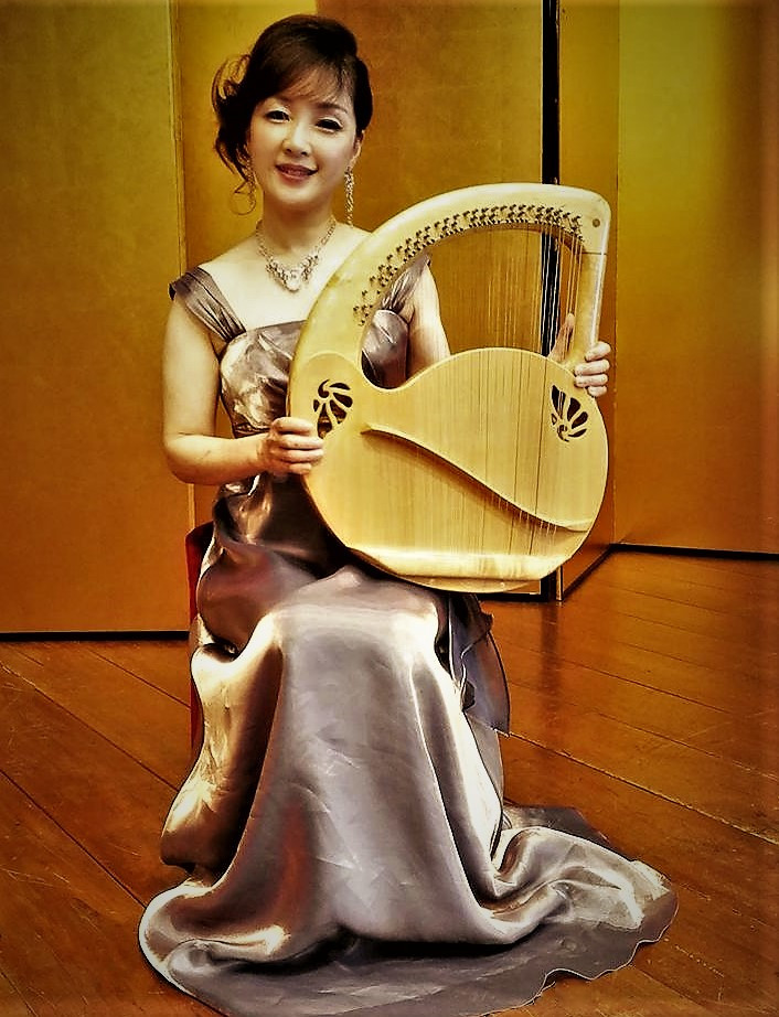 セレーナマリア 京都 ライアーリスト 竪琴奏者
