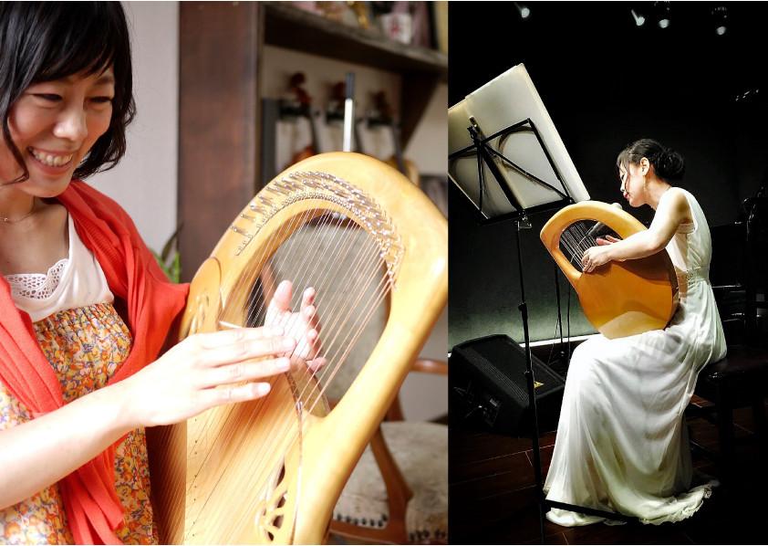 アフロディーテの竪琴 徃安舞 ゆきやすまい ライアー教室 滋賀県