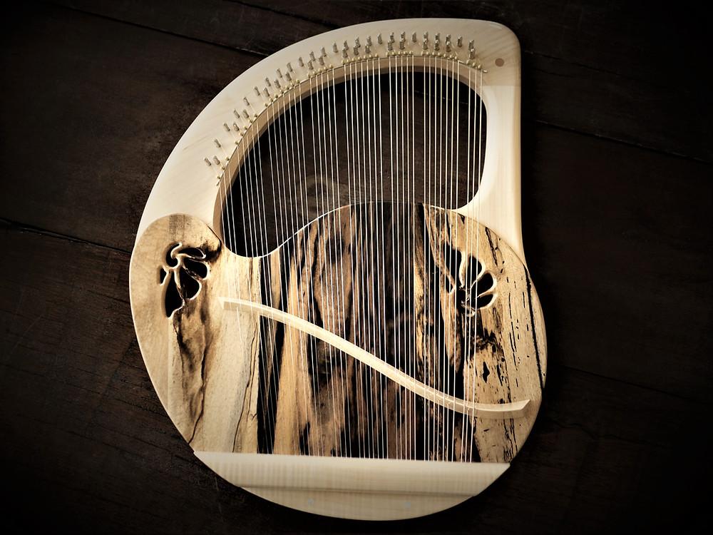 黒柿シリーズ アフロディーテの竪琴 リーアノン