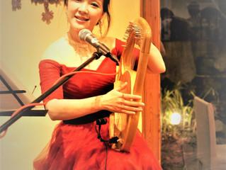 ライアー竪琴:京都セレーナマリアさんライブ