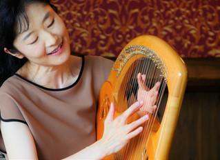 ライアー、竪琴:安達摩澄先生のHP開設