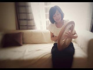 竪琴:舞ちゃん コンサート京都