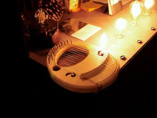 小さなライアー:アフロディーテの竪琴・ハートモデル