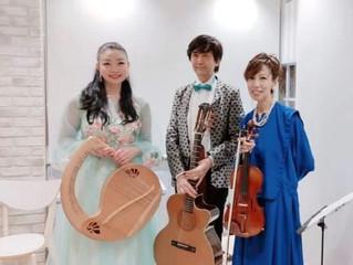 ライアー奏者:CERENAさんのコンサート&ライアーワークショップが開催されました。