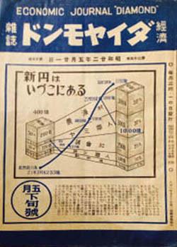 1947年昭和22年5月 経済雑誌「ダイヤモンド」