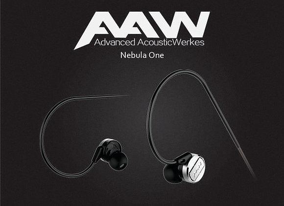 (한국공식) 커스텀 이어폰의 명가 AAW의 NEBULA ONE 가성비킹