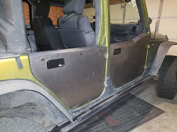 JKU Rear Half Door Pair
