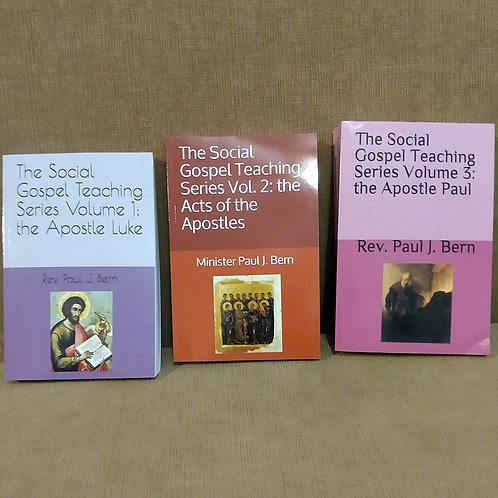 The Social Gospel Teaching Series Volumes 1, 2, and 3