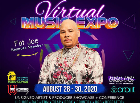 WorldScout™ Virtual Music Expo Holds its FirstDigital Expo Including 24 Hrs of Events and Headliner