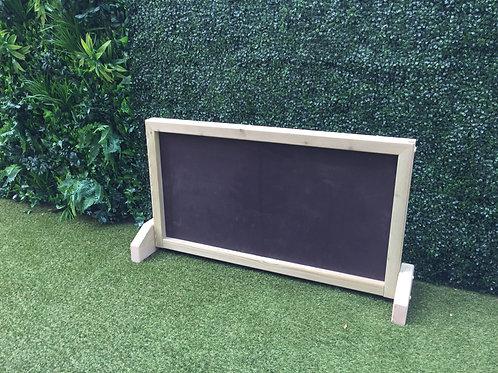 Freestanding Outdoor Blackboard