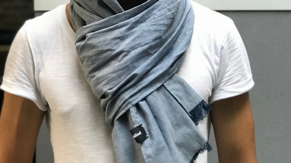 long linen scarf