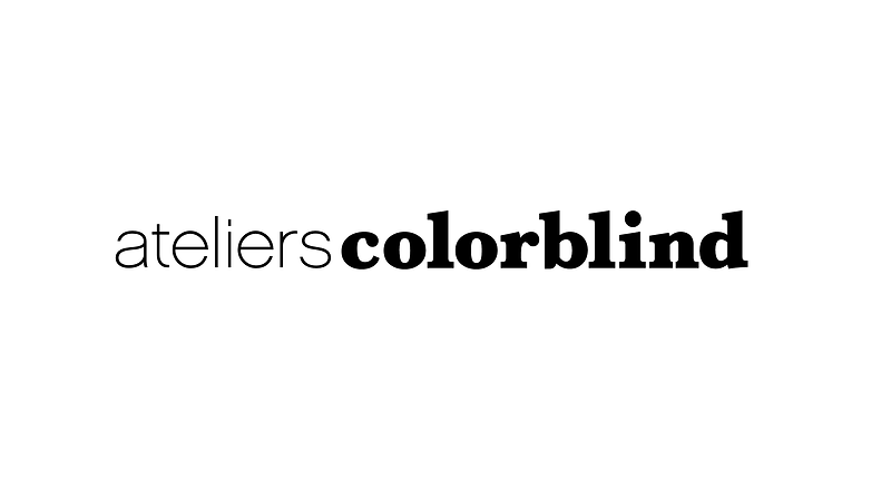 ateliers colorblind logo white backgroun