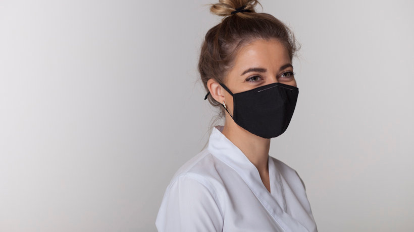 hygienic reusable face mask