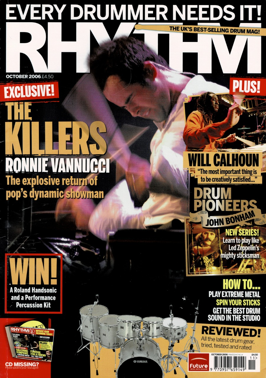 Drum Magazine Cover