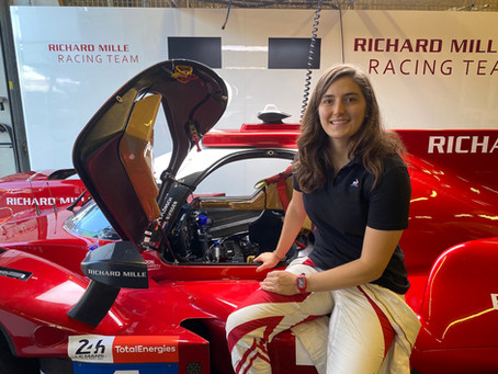 TATIANA READY FOR SECOND LE MANS OUTING