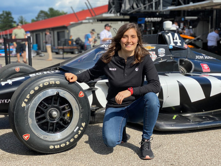 TATIANA TO TEST IN INDYCAR IN MID-OHIO