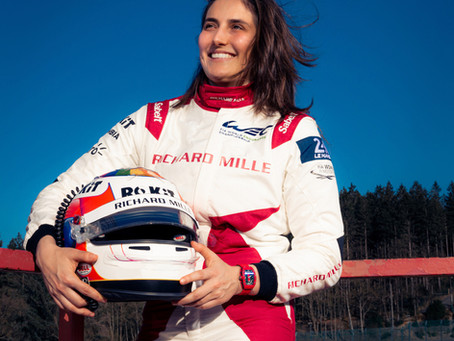TATIANA GEARED UP FOR UNIQUE MONZA WEC CHALLENGE