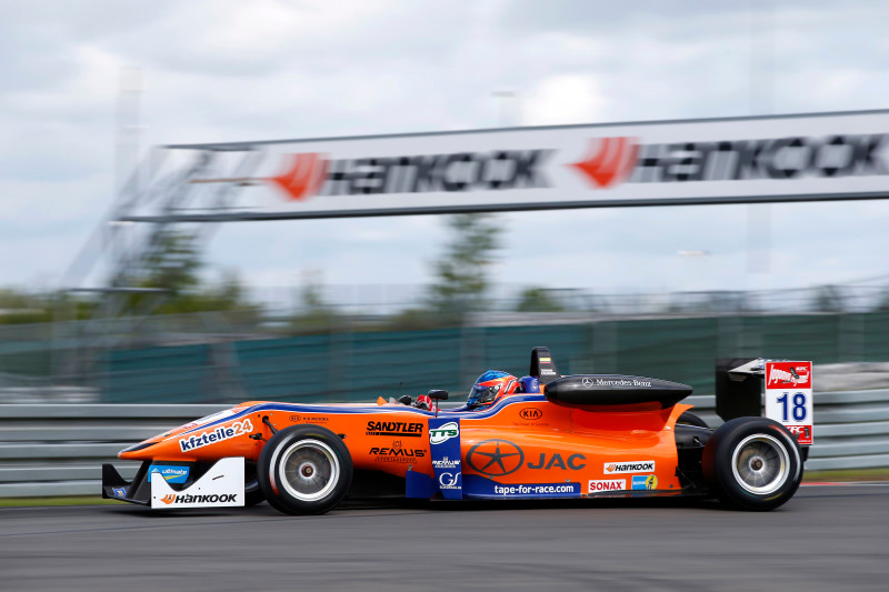 18 Tatiana Calderon (COL, Jo Zeller Racing, Dallara F312 - Mercedes), FIA Formula 3 European Championship, round 9, race 2, Nürburgring (GER) - 15. - 17. August 2014