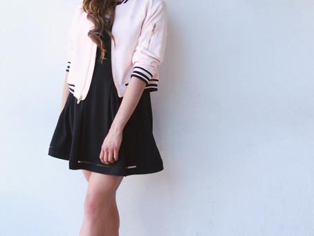 #StreetStyle: Black & Pink