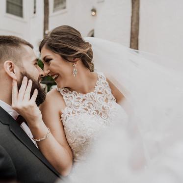 Romantic Fall Wedding at the Casa Marina Hotel & Restaurant in Jacksonville Beach, Florida