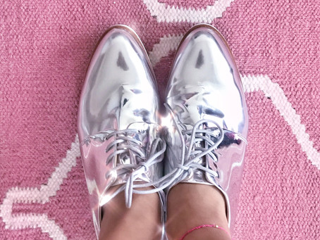 #ShoesOfTheMonth: Silver Sneakers