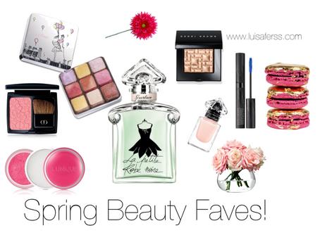 Beauty: Mis favoritos de primavera 2016!